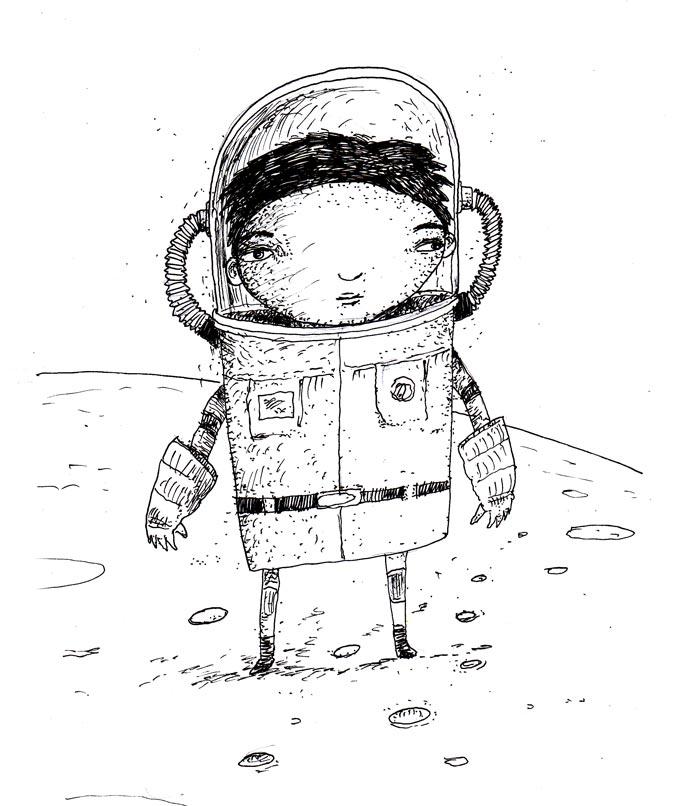 astronaut pen writes upside down - photo #37