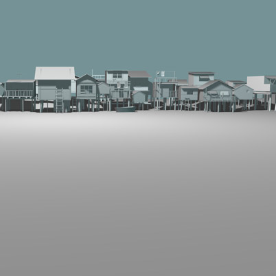 3d stilth houses